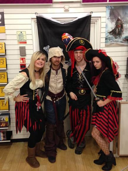 GAME Store Event Gallery - Assassin's Creed IV: Black Flag Launch Events