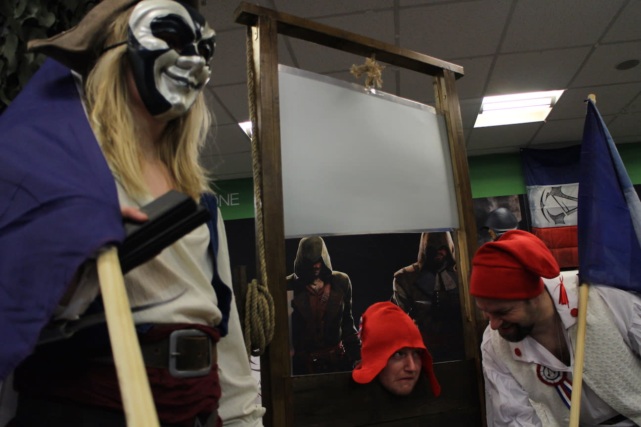 GAME Store Event Gallery - Assassin's Creed: Unity Launch