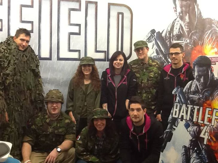 GAME Store Event Gallery - Battlefield 4 Midnight Launch Events