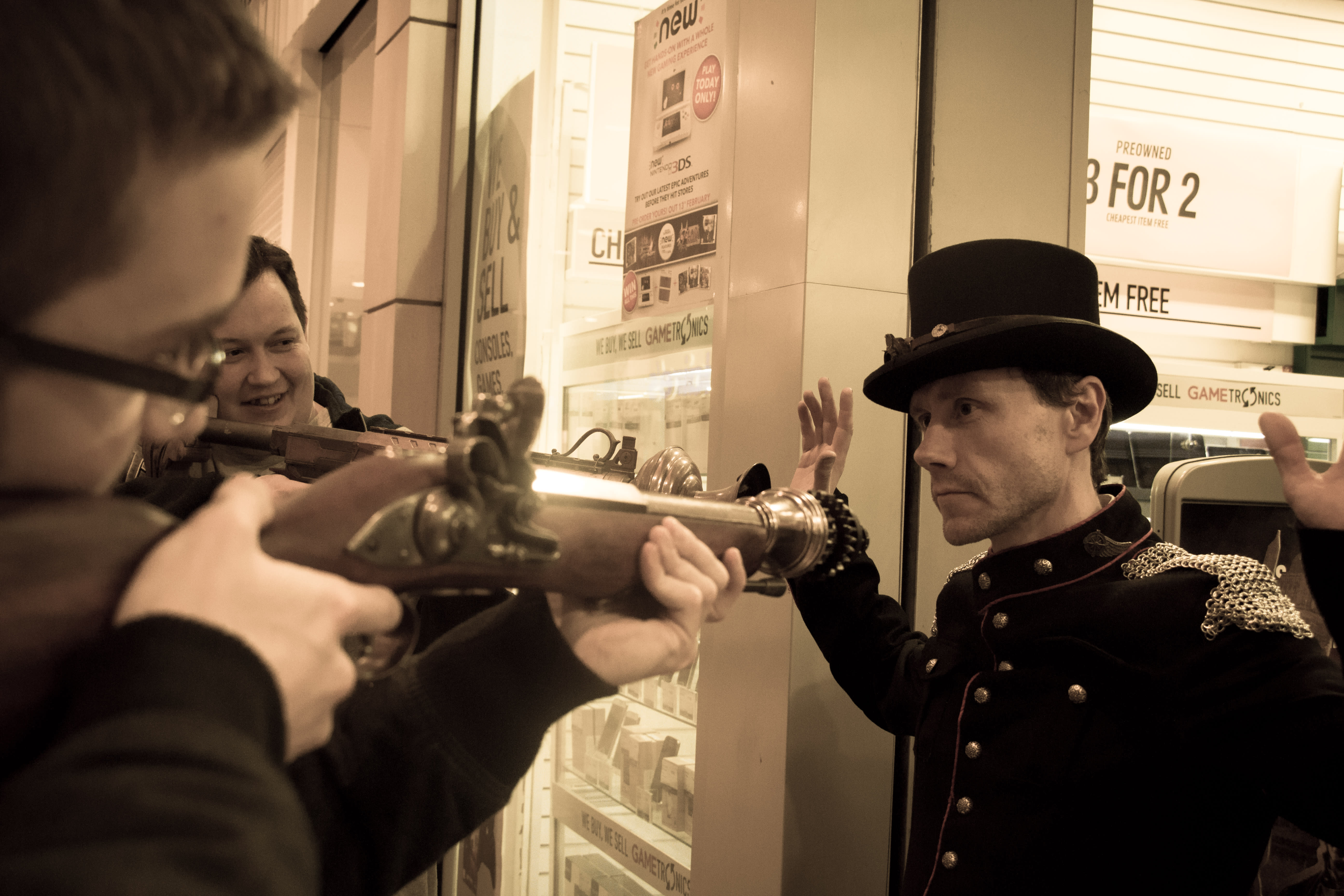 GAME Store Event Gallery - The Order 1886 & Bloodborne Lock-in