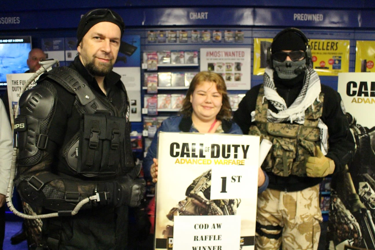 GAME Store Event Gallery - Call of Duty: Advanced Warfare Launch