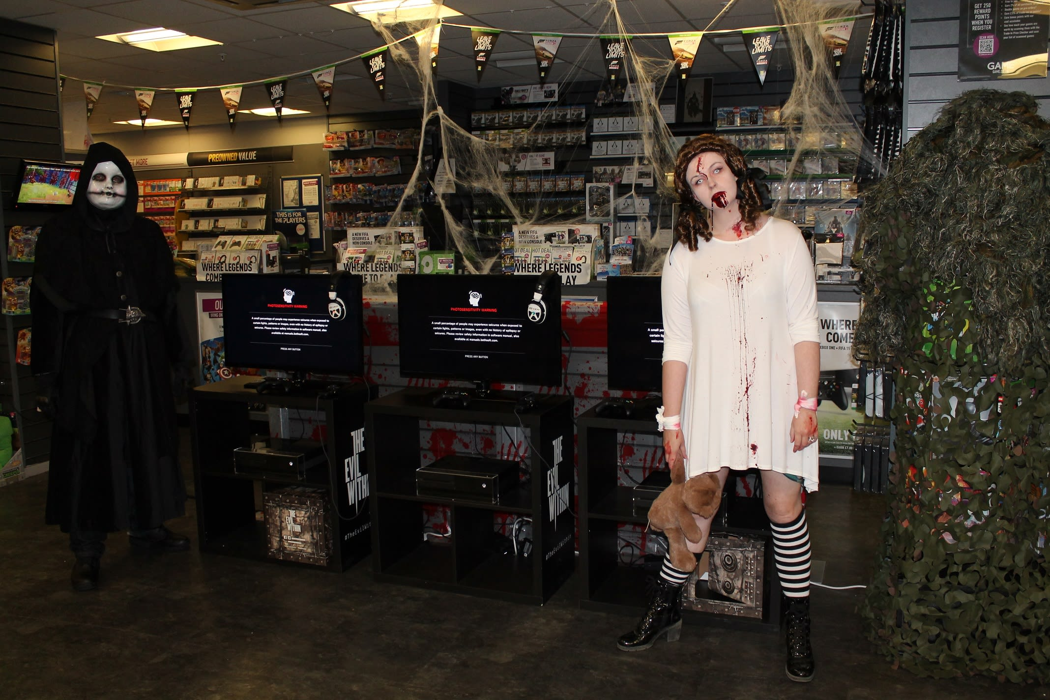 GAME Store Event Gallery - The Evil Within Launch