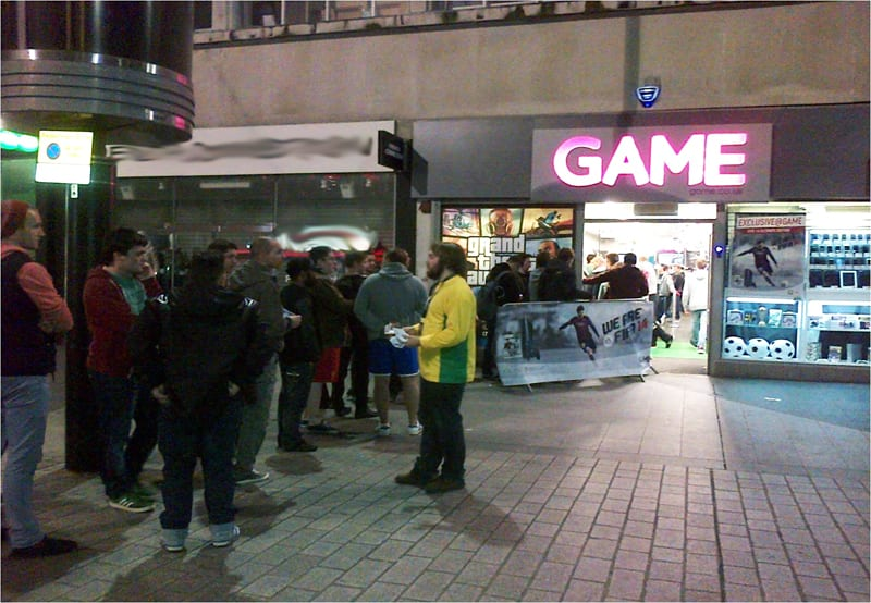 GAME Store Event Gallery - FIFA 14 Launch Events