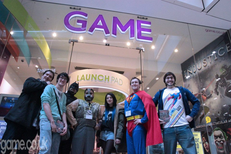 GAME Store Event Gallery - Fun In Store