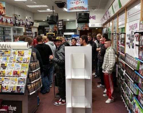 GAME Store Event Gallery - GTA V Launch Events