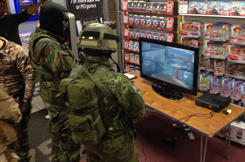GAME Store Event Gallery - Call of Duty Ghosts Launch Events