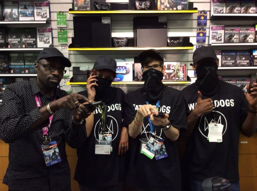 GAME Store Event Gallery - Watch Dogs Launch
