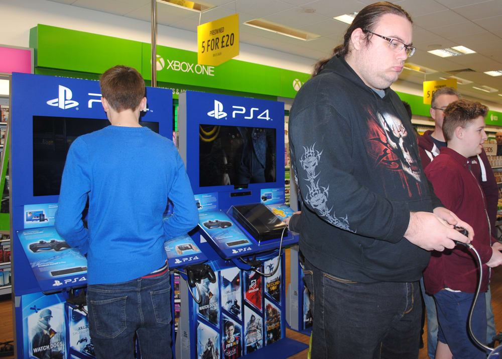 GAME Store Event Gallery - inFAMOUS Second Son Lock In Events