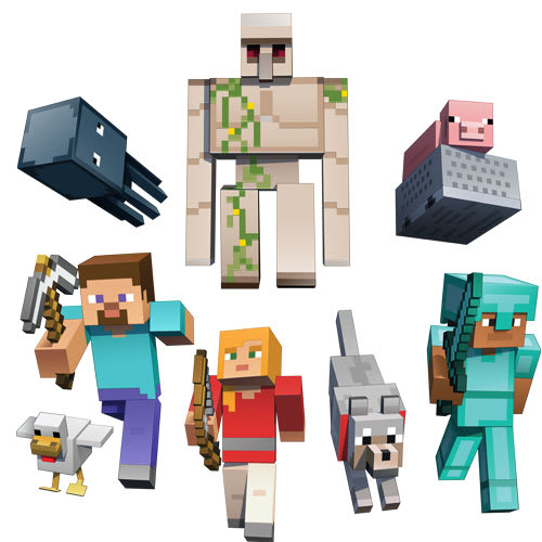 Minecraft Competition In-Store!