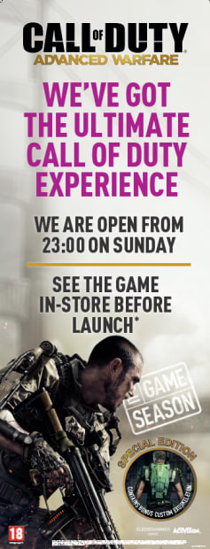 Call of Duty: Advanced Warfare midnight launch event at GAME!
