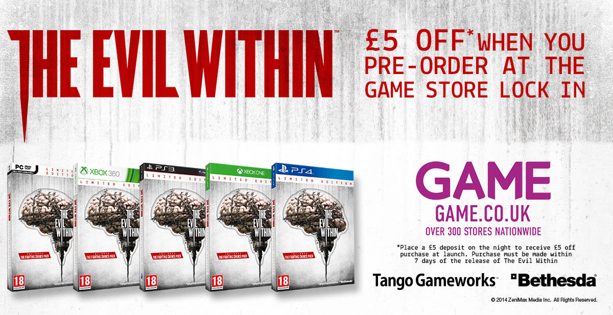 The Evil Within Lock-in offer