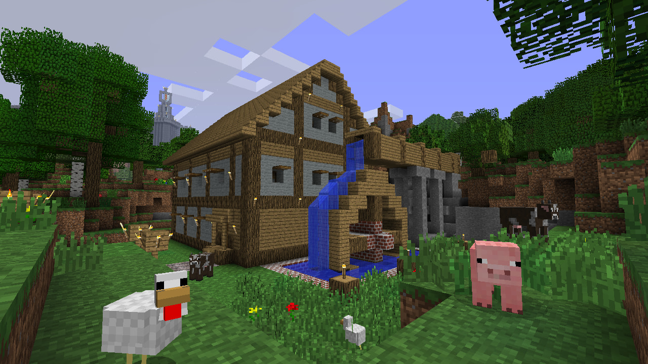 Join GAME for the Month of Minecraft.