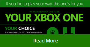 Get More With Xbox One Choices Infographic at GAME