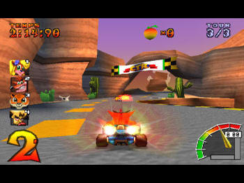 Download classic racing action with Crash Bandicoot in Crash Team Racing on PSN