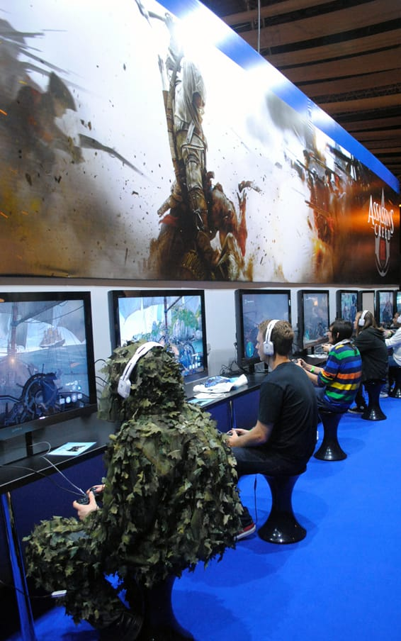 GAME played Assassin's Creed 3 at Eurogamer Expo