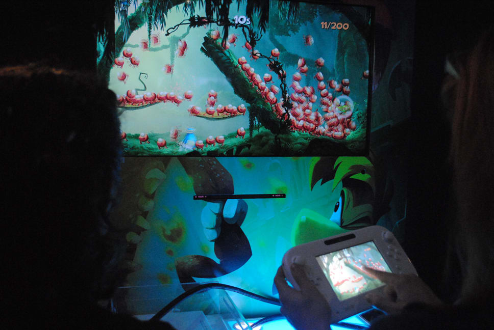 GAME played Rayman Legends on Wii U at Eurogamer Expo