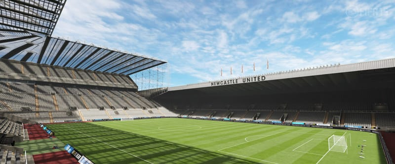 FIFA 15 Premier League Stadiums