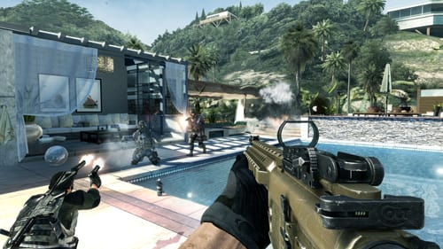 Nowhere to hide in tropical Getaway Face Off, part of COD: MW3 Collection 2