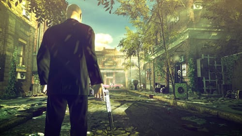 Hitman Absolution - streets of Hope previewed at E3
