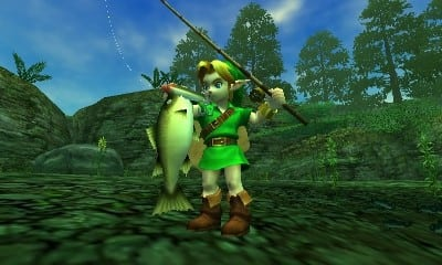 Get Zelda Ocarina of Time 3D on 3DS at Game.co.uk