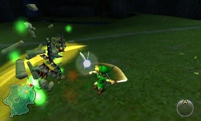 Play Link in the Legend of Zelda Ocarina of time on 3DS at Game.co.uk