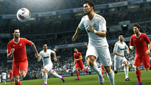 Player personality strikes in Pro Evolution Soccer at GAME