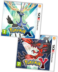 Pokemon X & Pokemon Y on 3DS at GAME