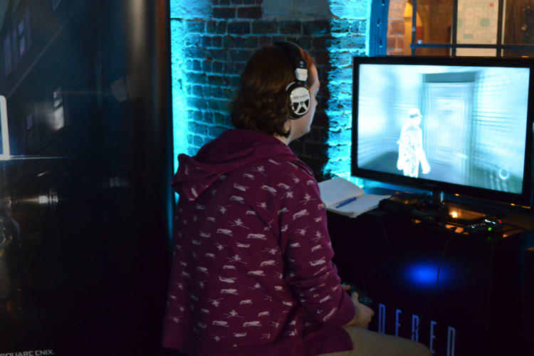 Murdered Soul Suspect at Bafta Inside Games Event