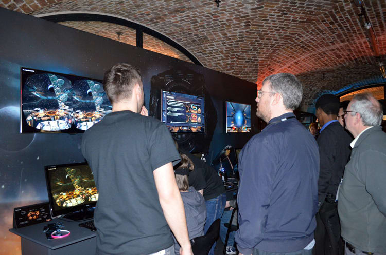 Elite Dangerous at Bafta Inside Games show in London