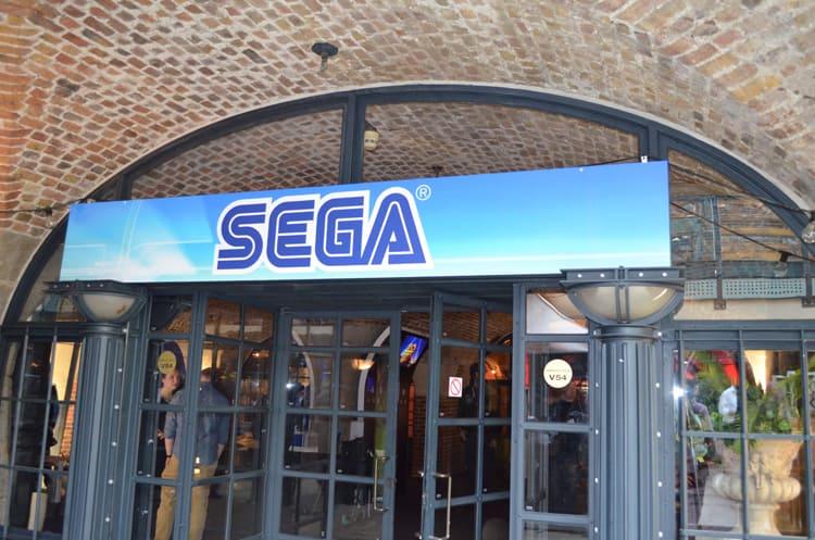 SEGA at Bafta Inside Games show in London