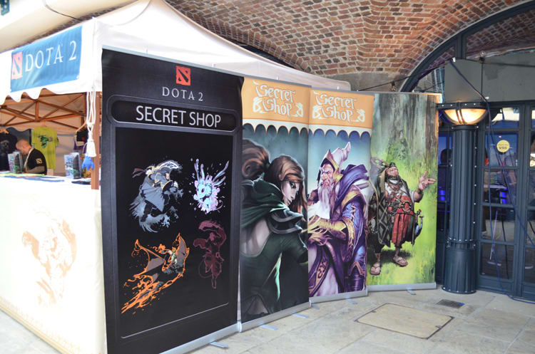 Dota 2 at Bafta Inside Games show in London