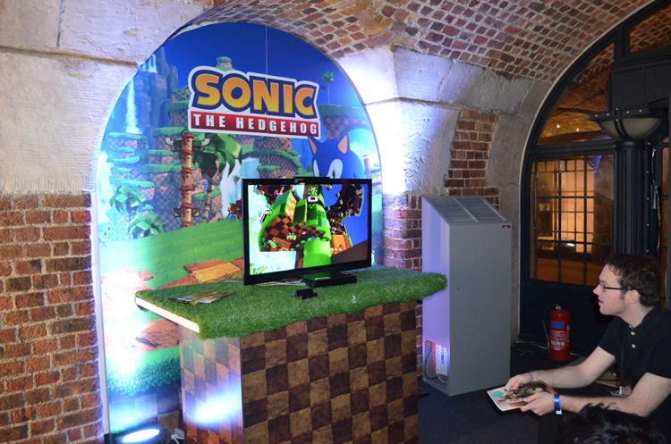 SEGA at Bafta Inside Games show in London