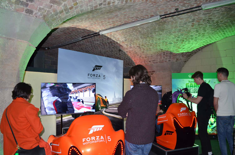 Xbox at Bafta Inside Games show in London