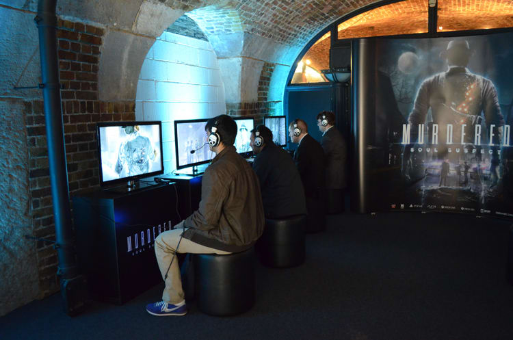 We play Murdered: Soul Suspect at Bafta Inside Games show in London