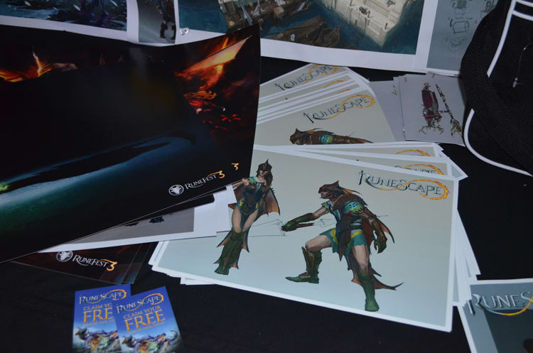 Runescape at Bafta Inside Games show in London