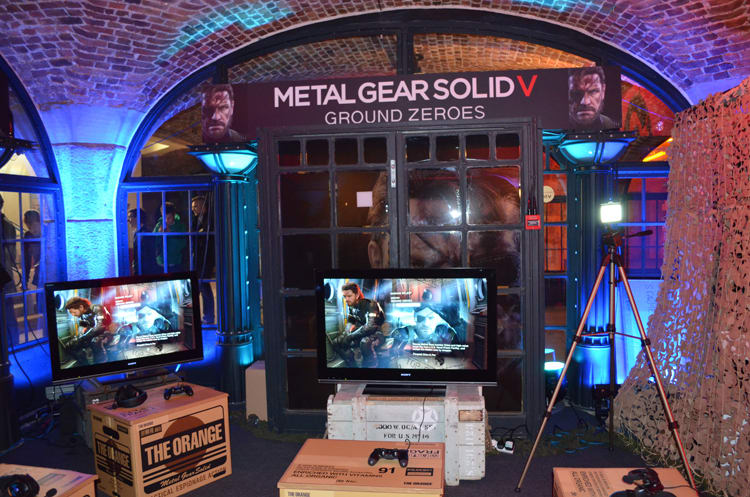 Metal Gear Solid V Ground Zeroes at Bafta Inside Games show in London