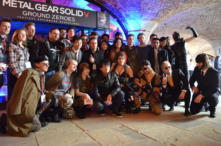 Hideo Kojima appears at Bafta Inside Games show in London