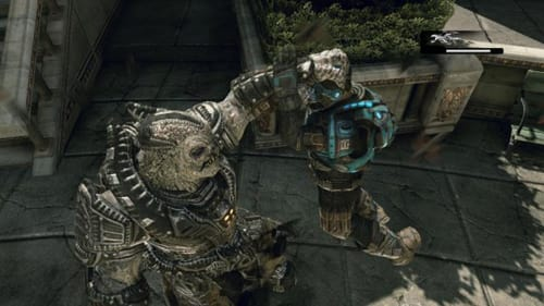 General Raam Executes a Gear of the COG in the latest Gears of War 3 DLC Raam's Shadow