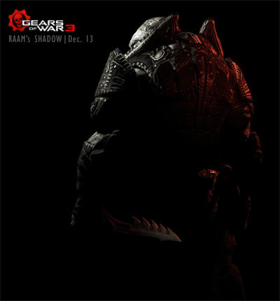 General Raam in the latest Gears of War 3 DLC Raam's Shadow