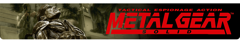 Metal Gear Solid Header Image