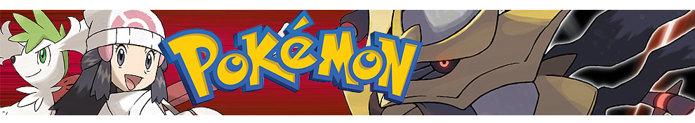 Pokemon Games header