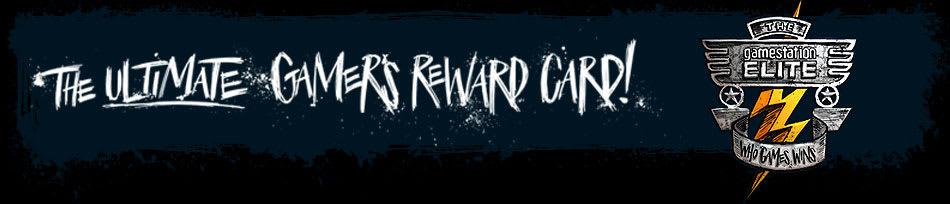 Gamestation Elite - The ultimate gamers reward card!