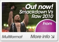 WWE Smackdown vs Raw 2010 - Out Now!