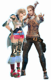 Charaters from Final Fantasy