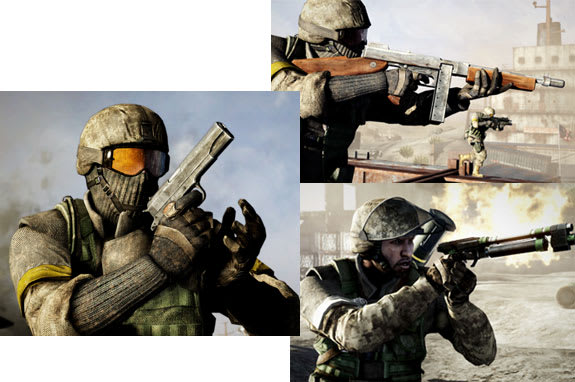 Classes Battlefield 2 Battlefield Bad Company 2™