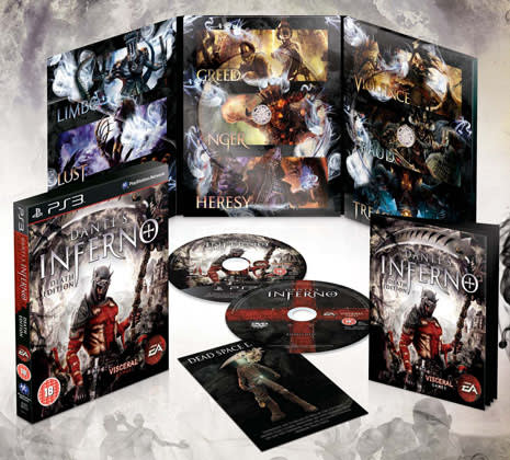 Jual bd ps3 dante's inferno death edition kungpaw game store.
