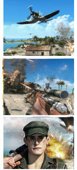 Battlefield 1943 (PS3 & X360, 2009) Screens