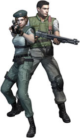 Jill Valentine and Chris Redfield