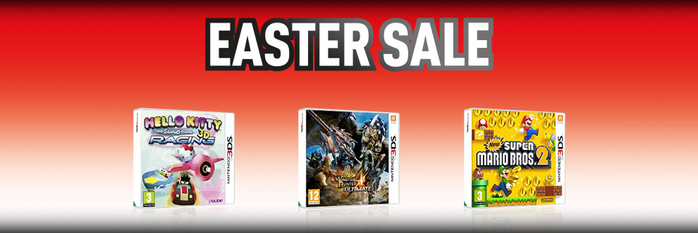 Nintendo 3DS Easter Sale - Buy Now at GAME.co.uk!