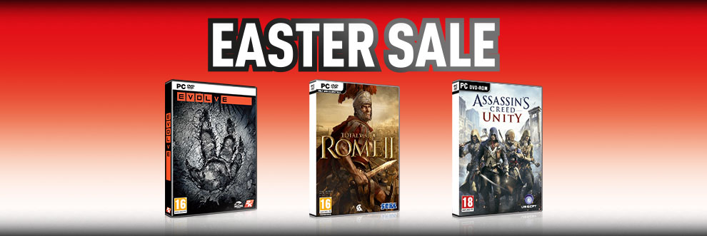 PC Easter Sale - Buy Now at GAME.co.uk!